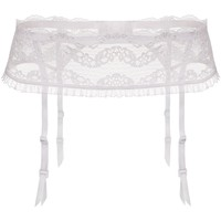 Ropa interior Mujer Liguero Julimex LILLY WHI Blanco