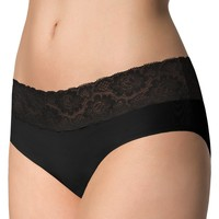 Ropa interior Mujer Culote y bragas Julimex HIPSTER NOIR Negro