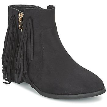 Zapatos Mujer Botas de caña baja Elue par nous VOPFOIN Negro