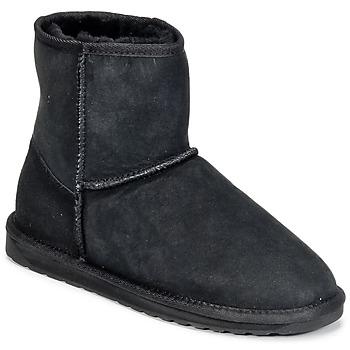 Zapatos Mujer Botas de caña baja EMU STINGER MINI Negro
