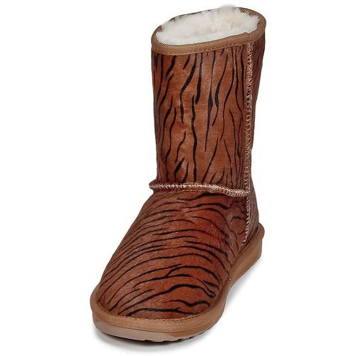 Lo Caña Tigre Stinger Botas Fur Emu Baja Mujer Zapatos De 4j5ARL