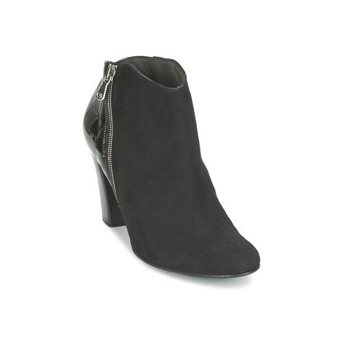 Los últimos zapatos de descuento para hombres y mujeres Zapatos especiales France Mode NANTES Negro / Barniz
