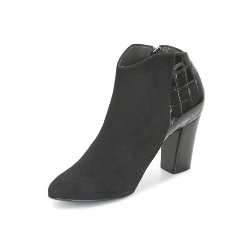 Mode NegroBarniz Mujer Boots Nantes Low Zapatos France Nwvnm80