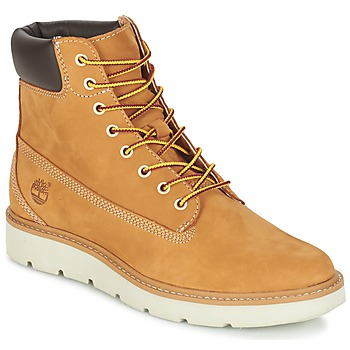 Zapatos Mujer Zapatillas altas Timberland KENNISTON 6IN LACE UP Beige