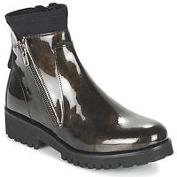 Zapatos Mujer Botas de caña baja Regard REJABI Bronce / Barniz