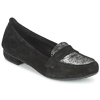 Zapatos Mujer Mocasín Regard REMAVO Negro / Piel