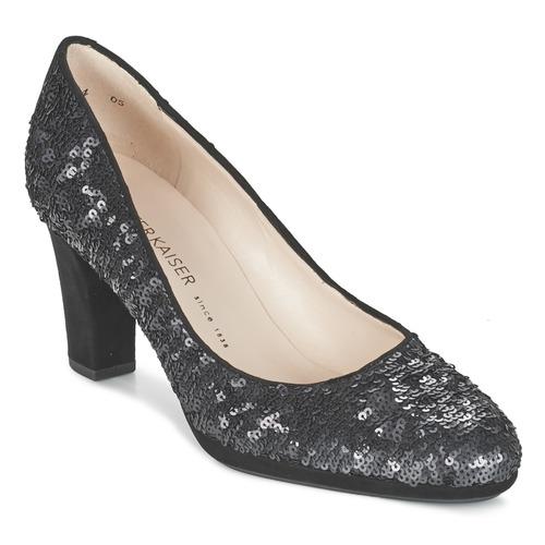 Venta de liquidación de temporada Zapatos especiales Peter Kaiser KOLIN Negro / Sequins