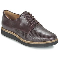 Zapatos Mujer Derbie Clarks GLICK DARBY Morado