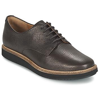 Zapatos Mujer Derbie Clarks GLICK DARBY Marrón