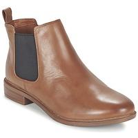 Zapatos Mujer Botas de caña baja Clarks TAYLOR SHINE Marrón
