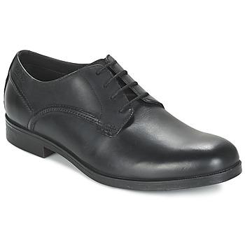 Zapatos Hombre Derbie Clarks BROCTON WALK Negro