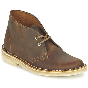Zapatos Mujer Botas de caña baja Clarks DESERT BOOT Marrón