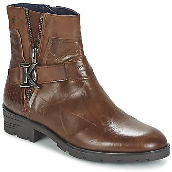Zapatos Mujer Botas de caña baja Dorking NALA Marrón