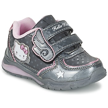 Zapatos Niña Zapatillas bajas Hello Kitty FANELY LIGHT Gris