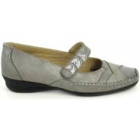 Zapatos Mujer Bailarinas-manoletinas Boissy Ballerine Lunel Gris Beige Gris