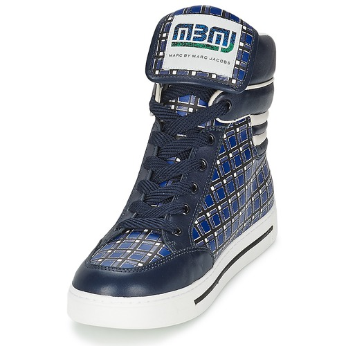 Marc By Zapatos Kids Mujer Zapatillas Altas Mini Cute AzulMulticolor Plaid Toto Jacobs rBdWeQCxo