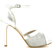 Zapatos Mujer Sandalias Grace Shoes 145 High heeled sandals Mujeres Silver