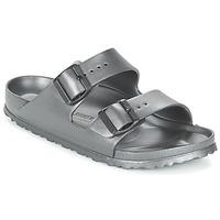 Zapatos Mujer Zuecos (Mules) Birkenstock ARIZONA-EVA Gris
