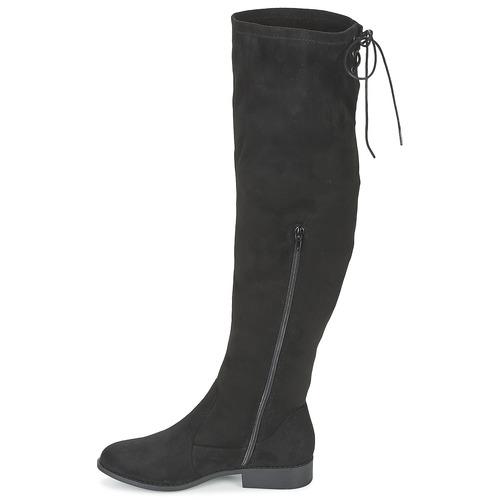 Zapatos Boppy Mujer La Coolway Botas A Rodilla Negro c5jqL4S3AR