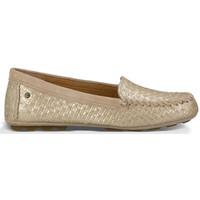 Zapatos Mujer Mocasín UGG Mocassin Dari Metallic Oro