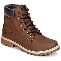 Zapatos Hombre Botas de caña baja Fila MAVERICK MID Marrón