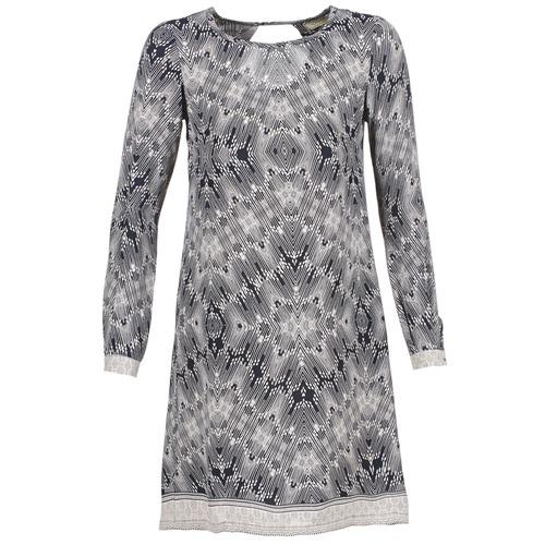 textil Mujer vestidos cortos Cream BARBRA Marino / Blanco