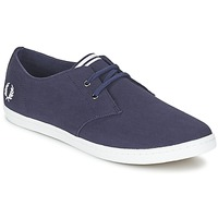 Zapatos Hombre Zapatillas bajas Fred Perry BYRON LOW TWILL Marino