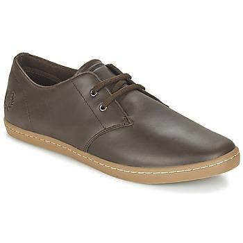 Zapatos Hombre Zapatillas bajas Fred Perry BYRON LOW LEATHER Marrón