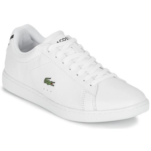 Zapatos Mujer Zapatillas bajas Lacoste CARNABY EVO BL 1 Blanco