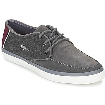 Zapatos Hombre Zapatos náuticos Lacoste SEVRIN 316 3 Gris