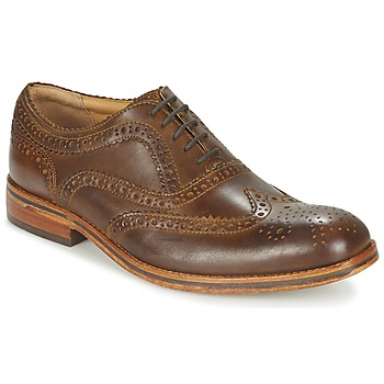 Zapatos Hombre Derbie Hudson KEATING CALF Brown