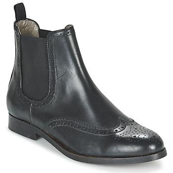 Zapatos Mujer Botas de caña baja Hudson ASTA CALF Negro