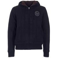 textil Hombre jerséis Schott DUNLIN Negro
