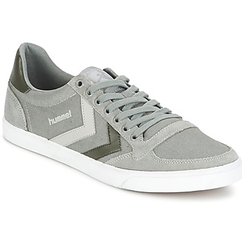 Zapatos Zapatillas bajas Hummel TEN STAR DUO CANVAS LOW Gris