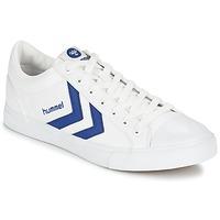 Zapatos Zapatillas bajas Hummel BASELINE COURT Blanco / Azul