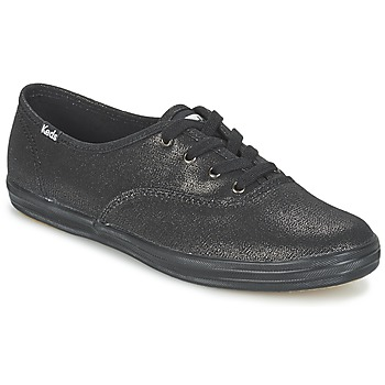 Zapatos Mujer Zapatillas bajas Keds CH METALLIC CANVAS Negro