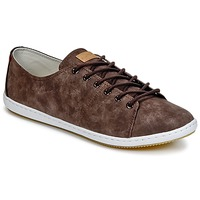 Zapatos Hombre Zapatillas bajas Lafeyt BRAUWG PU Marrón