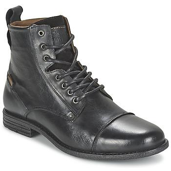 Zapatos Hombre Botas de caña baja Levi's EMERSON LACE UP Negro