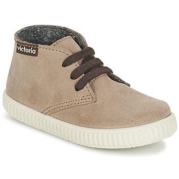 Zapatos Niños Zapatillas altas Victoria SAFARI SERRAJE KID Topotea