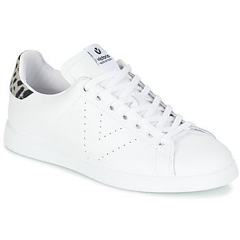 Zapatos Mujer Zapatillas bajas Victoria DEPORTIVO BASKET PIEL Blanco