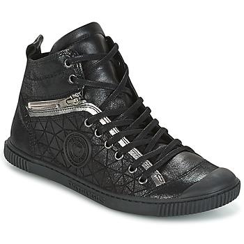 Zapatos Mujer Zapatillas altas Pataugas BANJOU Negro