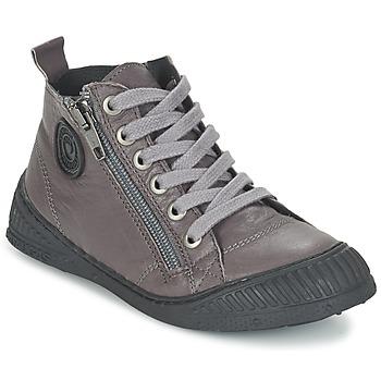 Zapatos Niño Zapatillas altas Pataugas ROCKET/N Gris