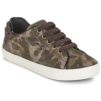 Zapatos Niña Zapatillas bajas Geox KIWI GIRL Verde