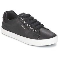 Zapatos Niña Zapatillas bajas Geox KIWI GIRL Negro