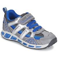 Zapatos Niño Zapatillas bajas Geox SHUTTLE BOY Gris / Azul