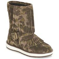 Zapatos Niña Botas de caña baja Geox NOHA Verde