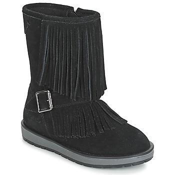 Zapatos Niña Botas de caña baja Geox NOHA Negro