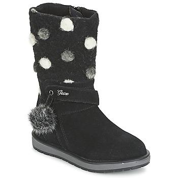 Zapatos Niña Botas urbanas Geox NOHA Negro