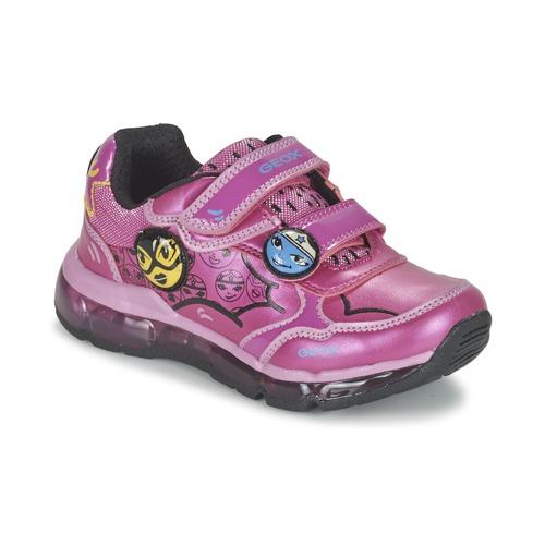 Zapatos Niña Zapatillas bajas Geox ANDROID GIRL Rosa