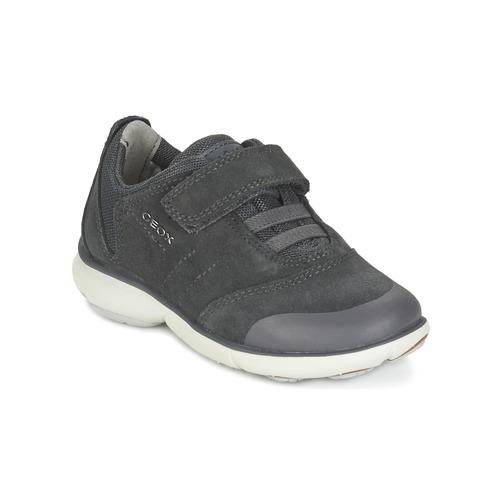 Zapatos Niño Zapatillas bajas Geox NEBULA BOY Gris